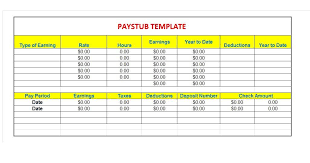 Check Stub Template For Excel Bonus Plan Template Editable Salary Certificate Format In Word
