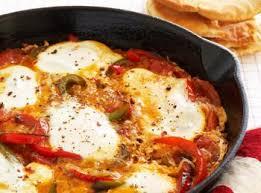 poivron cuisine oeufs aux tomates et poivrons recettes de cuisine algérienne
