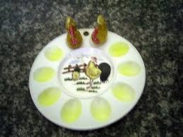 vintage deviled egg plates egg platters collection on ebay