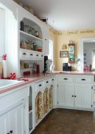 catherine holman folk art living with pink kitchen countertops