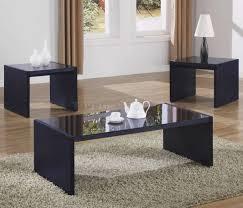 coffee table wonderful black modern coffee table sets