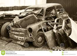 old rusty cars old rusty car at the dump stock photo image 56710368