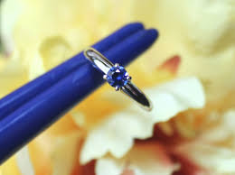 simple sapphire engagement rings custom made blue sapphire solitaire engagement ring tsao