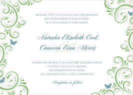 23 wedding invitation cards template u2013 webcompanion info