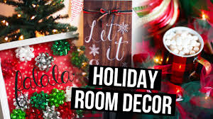 diy holiday room decor ideas u0026 christmas makeover laurdiy youtube