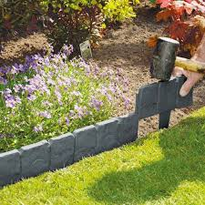 Garden Lawn Edging Ideas Lawn Garden Edging Materials 37 Garden Edging Ideas How To Ways