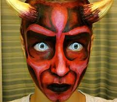 halloween series 2013 devil face painting tutorial youtube