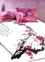 Japanese Bedding Sets Cherry Blossom Bedding Sets Cherry Blossom Duvet Cover Uk