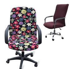 computer chair covers office chair slip cover by studiocherie on etsy office chair