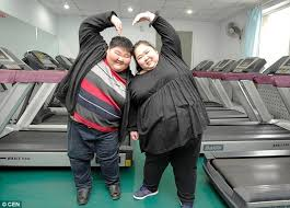 Fat Chinese Boy Meme - chinese couple weighing 62 stone start fitness regime so they can