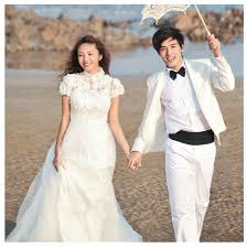 wedding dress malaysia flower lace high collar white w end 4 15 2015 9 15 pm