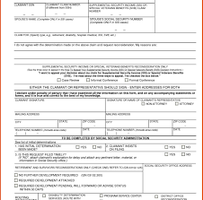 ssi application form business form templates