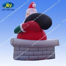 Life Size Santa Claus Decoration Fashion Chrismas Inflatable Life Size Santa Claus Decoration