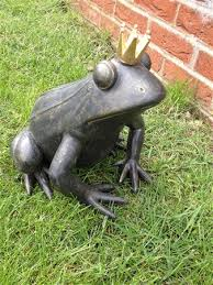 frog figurine for the garden outdoor frog ornaments frog with