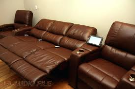 Theater Reclining Sofa Charming Home Theater Reclining Sofa For Recliner Chairs Property