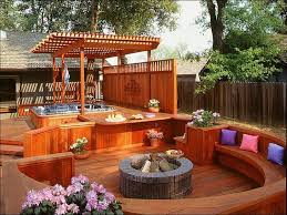 Best Firepits Best Wood Patio Ideas With Pit Pit On Wood Deck Outdoor
