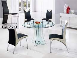 small glass kitchen table adorable glass round dining table set sets modern small with 11