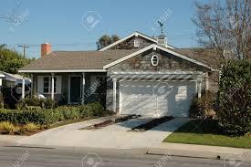 suburban home newport beach california stock photo picture and