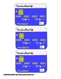 debit cards for classroom debit cards students classroom and