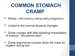 light cring early pregnancy minor discomfort of pregnancy crs