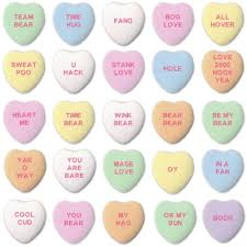 hearts candy stank wig and other sayings from ai generated candy