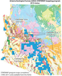 Maps Of Arizona Update On The Statemap Mapping Program In Arizona Arizona
