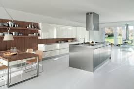 Handle Kitchen Cabinets Interior Simple And Clean Kitchen Cabinet With No Handle Kitchens