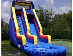 party rentals broward water slide rentals in miami broward palm water slide
