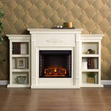 tennyson ivory media electric fireplace 37 fe8544