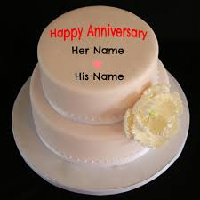 wedding wishes editing write your name on anniversary cakes pictures online edit