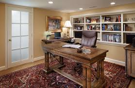 Basement Home Office Design And Decorating Tips - Home office design images