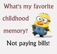 Funny Thursday Meme - favourite childhood memories