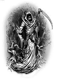 grim reaper tattoos gallery cool tattoos bonbaden