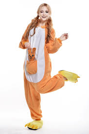 Mens Size Halloween Costumes Kangaroo Size Halloween Costume Men Women U0027s Onesie