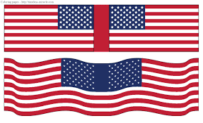 american flag printables