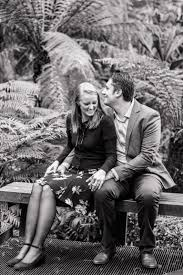 royal botanic gardens melbourne engagement session