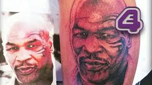mike tyson loves this amazing tattoo of himself tattoo fixers