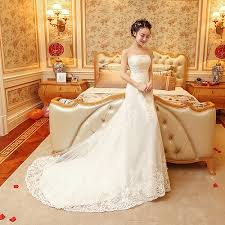 wedding dress version s wedding dress gown for the south korean version of free