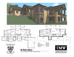 House Plan Rambler Daylight Basement Floor Plans