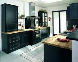 cuisine noir laqué pas cher meuble cuisine noir meuble de cuisine noir cuisine meuble de