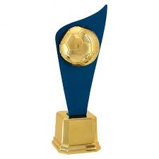 Excepcional Troféu de Metal Plate Futebol com 48cm Ref: 401101-DAZME &XW06