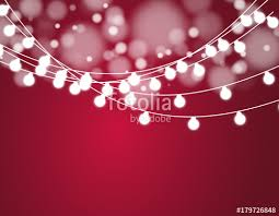 christmas background with xmas lights vector glowing garland