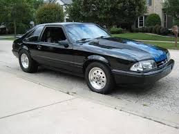 Black Mustang Lx 89 Ford Mustang Lx Supercharged 347 5 Speed Completely Redone