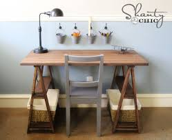 Build Simple Wood Desk by 13 Free Diy Desk Plans You Can Build Today