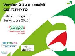 chambre d agriculture 86 version 2 du dispositif certiphyto certificat individuel de produits