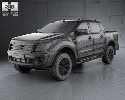 ford ranger max ford ranger wildtrak cab 2012 3d model in suv 3dexport