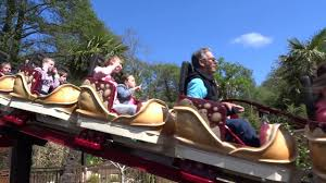 dino chase at paultons park lost kingdom youtube