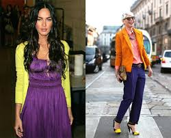 colors that match with purple color and fashion how to match outfits with complementary colors