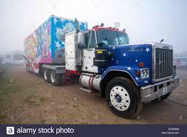 kenworth trucks uk pleasureland southport merseyside uk 18th march 2015 g m c
