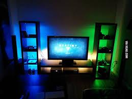 gaming setup ps4 my ps4 xboxone gaming setup 9gag